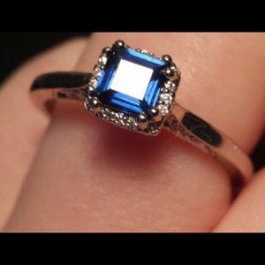 Tacori Princess Cut Sapphire Engagement ring 💍